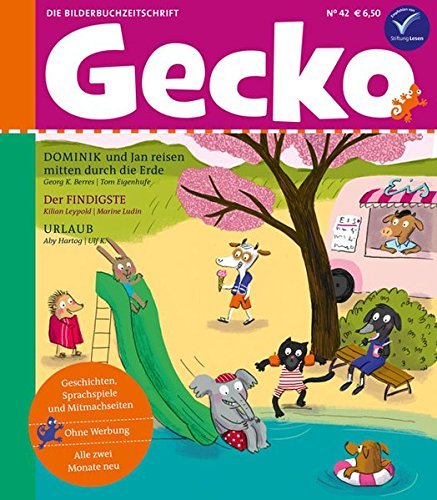 Gecko Kinderzeitschrift Band 42: Die Bilderbuch-Zeitschrift