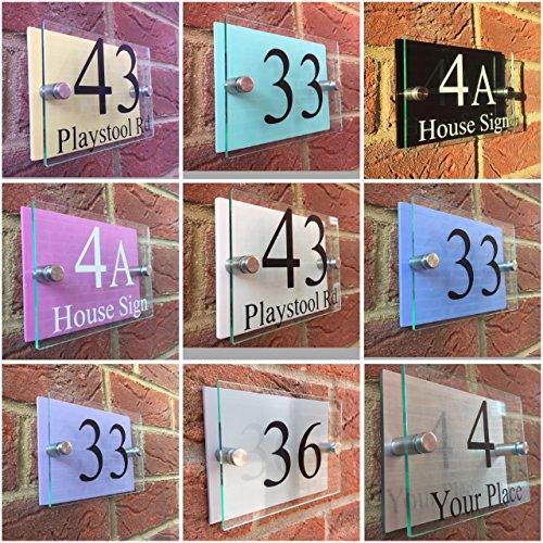 moderne-house-sign-plaque-de-porte-numero-rue-dos-couleur-pastel