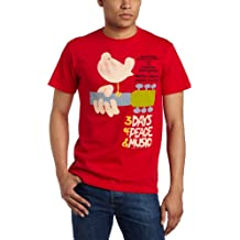 Woodstock - - Upstate '69 Adult tailliert T-Shirt in Rot