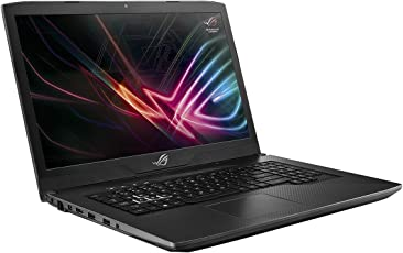 ASUS ROG Strix GL703GE SCAR Edition (90NR00D1-M01650) 43,9 cm (17,3 Zoll, Full-HD, 120Hz/3ms, matt) Gaming Laptop (Intel Core i7-8750H, 16GB RAM, 128GB SSD + 1TB, NVIDIA GTX1050Ti (4GB), Windows 10) gunmetal