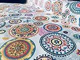 Ibiza Designerstoff aus Baumwolle für die Anfertigung von