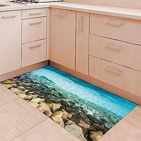 3D anti-skid flooring, PVC flooring, anti slip, floor sticker