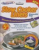 Sealapack Fornello Lento Sacchi Dell'immondizia Cucinare Sacchetti Confezione Da 5 Per Rotondo & Ovale Pentole