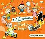 Die 50 schönsten Partylieder (3 CD): Lieder, ca. 120 min.