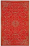 #7: Murano - Indoor/ Outdoor Rug (4' x 6', Enchanting Red & Gold)