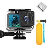 first2savvv Action Digital Camera Protective Waterproof Underwater Dive Housing Case Shell with Bracket Accessories 61…