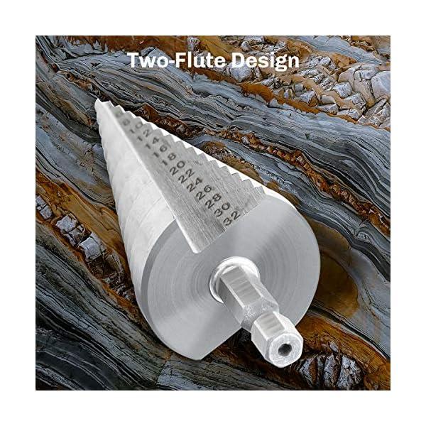 MOHOO-Punte-Coniche-Punta-Trapano-Elicoidale-Punta-Conica-in-Acciaio-HSS-Titanio-4-12mm-20mm-32mm-Fresa-Conica-per-Eseguire-Foro-in-Ferro-Legno-Metallo-Acciaio-Ottone-Plastica