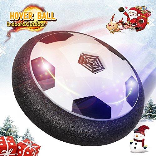 Hover Ball LED Fußball Spielzeug mit Musik Air Power Soccer Disk mit Licht für Indoor Innenräumen Spielen ohne Möbeln zu beschädigen, Guter Geschenk für die Weihnachten, Geburtstag und Kinder