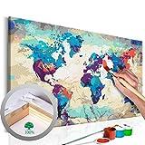 murando Peinture par Numero Impression sur Toile Monde 60x40cm n-A-0231-d-a
