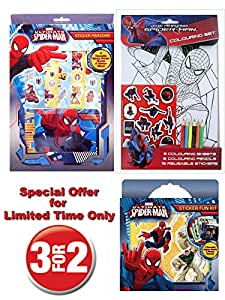 Marvel SpiderMan Mega Play Pack - Autumn Sale - Official Ultimate SpiderMan - RRP £12.99 - Yours for £8.99 - While stocks Last!