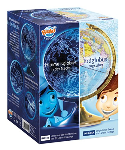 BUKI 7341DE - Tag und Nacht Globus (DEUTSCHE VERSION)