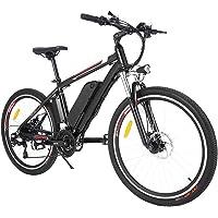 """Elektrofahrrad Ebike Mountainbike, 26"""" 250W Elektrisches Fahrrad mit Herausnehmbarer 36V 12.5Ah Lithium-Batterie und…"""