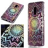 Samsung Galaxy S9 Plus Hülle, CHcase Kristall Funkeln Glitzer Laser Handyhülle Ultra Dünn Schutzhülle Silikon Transparent mit Muster Weich TPU Case Backcover für Samsung Samsung Galaxy S9 Plus -4