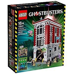LEGO Ghostbusters Caserma dei Vigili del Fuoco Costruzioni Piccole Gioco Bambina, Colore Vari, 75827 LEGO Ghostbusters LEGO