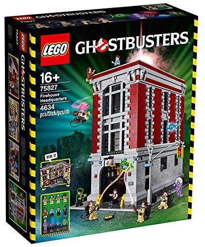 Preisvergleich Produktbild LEGO 75827 – Ghostbusters Feuerwehr-Hauptquartier