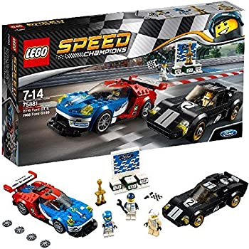 Lego Speed Champions - Ford GT 2016 & Ford GT40 1966 - 75881 - Jeu de Construction