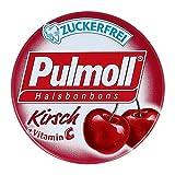 PULMOLL Hustenbonbons Wildkirsch zuckerfrei 20 g