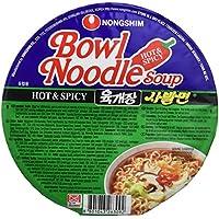 Nong Shim Instant Noodles Hot - Paquete de 12 x 86 gr - Total: 1032 gr