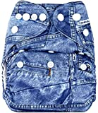 Bumberry Pocket Diaper and 1 Microfiber Insert (Jeans)