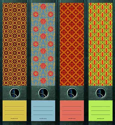 File Art AJ323 Design Etiketten Ordnerrückenschilder