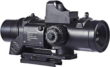 15000P 1er 6X Zielfernrohr mit Zoom + 7cm Rail Zubehör für Nerf