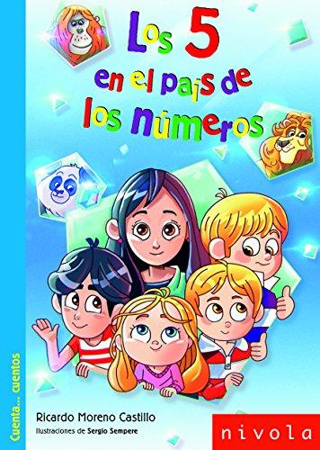 Los 5 en el país de los números (Junior) por Ricardo Moreno Castillo