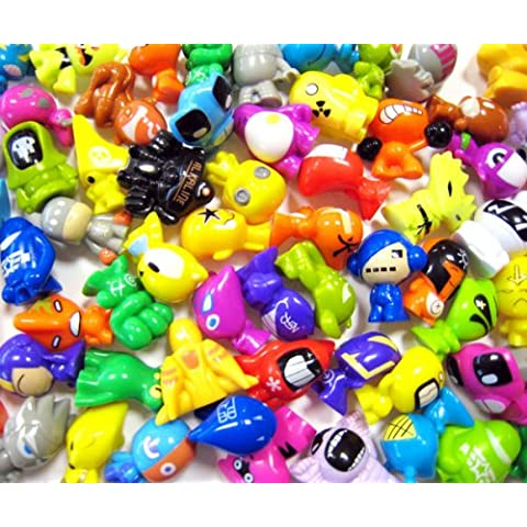 GoGo's Crazy Bones 30 Assorted + 30 Stickers