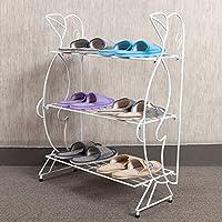 die mehrschichtige schuh einfach staubdichten pantoffeln schlafsaal frame kreativen modernen minimalistischen kleine eiserne storage rack,m