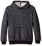 s.Oliver Jungen Sweatshirt in Melangeoptik, Einfarbig, Gr. 176 (Herstellergröße: XL), Blau (Dark Blue Melange 59W0)