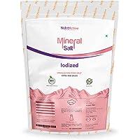 NutroActive MineralSalt Iodized Himalayan Pink Rock Salt Extra Fine Grain 500 g