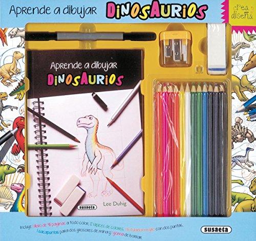 Aprende a dibujar dinosaurios (Crea y diseña) por Susaeta Ediciones S A
