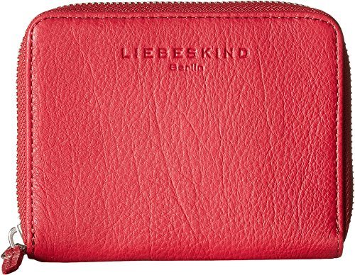 Liebeskind Conny R Portafoglio pelle 13 cm amber yellow cherry blossom red