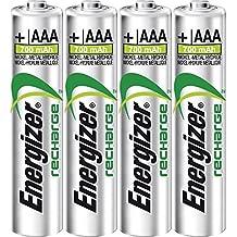 Energizer 941589 Batterie Ricaricabile AAAx4 700 mAh, Multicolore