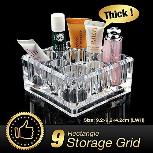 Generic Billig + 49% OFF transparent Acryl Schreibtisch Kosmetik Lippenstift Halter Make-up Nagellack Organizer eqc353 (Billig Nagellack-organizer)