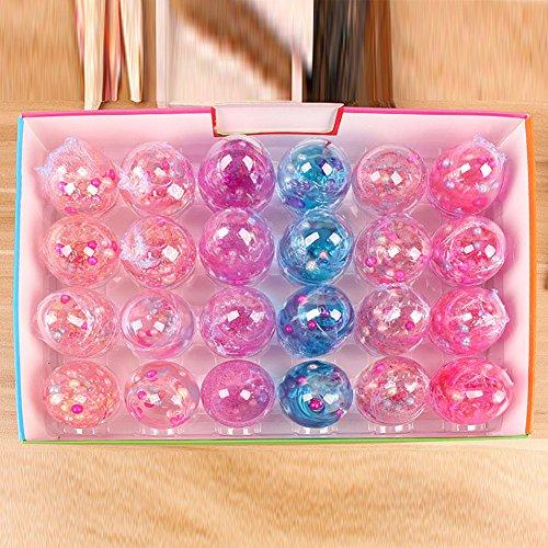 Zantec DIY Plastilin Kinder Ei Perle Pailletten Kristall Schlamm Spielzeug Intellektuelle Entwicklung Weihnachtsgeschenk (Gift-schlamm Spielzeug)