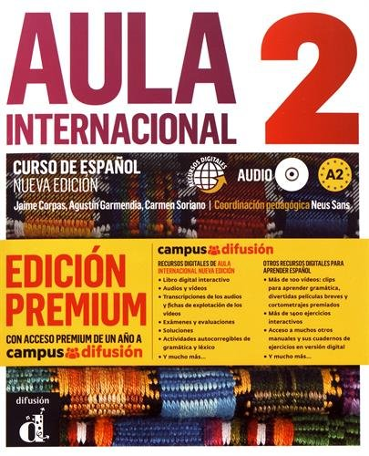 Aula internacional 2 A2 : Libro del alumno (1CD audio) par Jaime Corpas