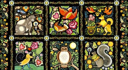 bohemia-animals-panel-cotton-quilting-fabric-60-cm-x-110-cm-all-inizio