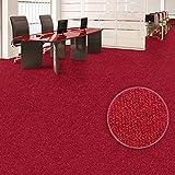 Moquette aiguilletée casa pura® Malta rouge | tailles au choix