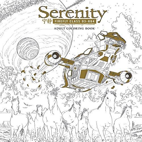 Serenity Adult Coloring Book por Fox