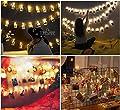 Tomshine 40 Leds Foto Clips Lichterkette, Warmweiß Lichterkette, 5m/40 Foto-Clips, Batteriebetrieben Stimmungsbeleuchtung, Dekoration für Wohnzimmer, Bar, Cafe, Weihnachten, Hochzeiten, Party von Tomshine