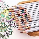 Ecloud Shop Bleistifte 48 farbige Set Für Erwachsene Coloring Rich Aquarell Bleistifte für Künstler Sketch/Erwachsene Secret Garden Malbuch/Kinder Künstler Schreiben/Manga-Grafik