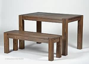 Sitzgruppe Garnitur mit Esstisch ,,Rio Bonito,, 120x80cm