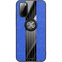 Fanxwu Compatibile con Custodia Samsung Galaxy S20 Plus TPU Silicone Ultra Sottile Case con 360°Rotazione Ring Holder…