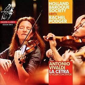 """Vivaldi: 12 Violin Concertos - """"La Cetra"""", Op. 9"""