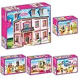 Playmobil - Les 6 Boites De La Collection Maison Traditionnelle