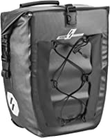 LYCAON Bike Pannier Bag, Waterproof TPU Rear Seat Bag Pannier Cycling Storage Pouch Bicycle Trunk with Quick-release...
