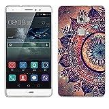 Huawei Mate S Hülle, Fubaoda [Mandala blume] Huawei Mate S UltraSlim Hülle TPU Case Weiches Silikon Schutzhülle Tasche Bumper