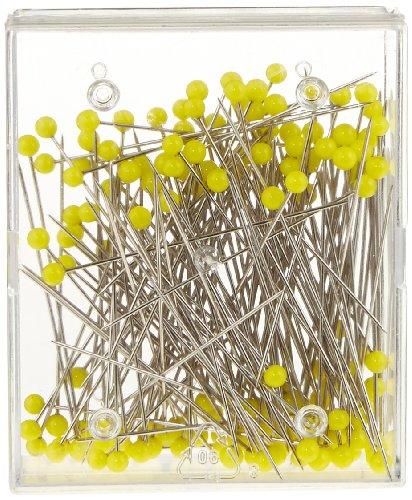 Prym Glaskopfnadeln ST 1 gelb 0,60 x 43 mm