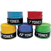 Yonex Tech-501B Badminton Grips (Multicolour, Pack of 5)