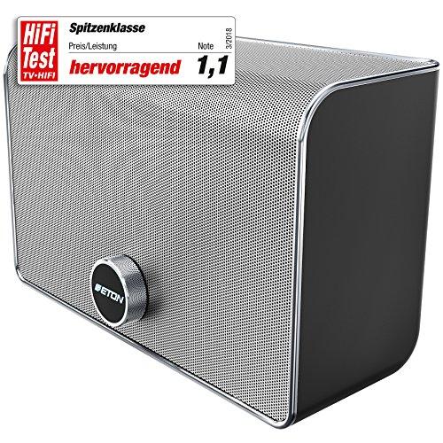 Eton AIR 4 WLAN - Lautsprecher für Musikstreaming Silber/schwarz